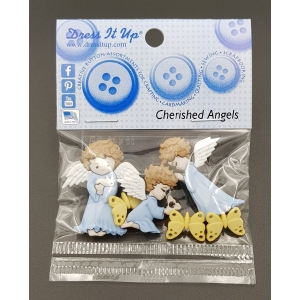 cz.모양단추/CHERISHED ANGELS 8979